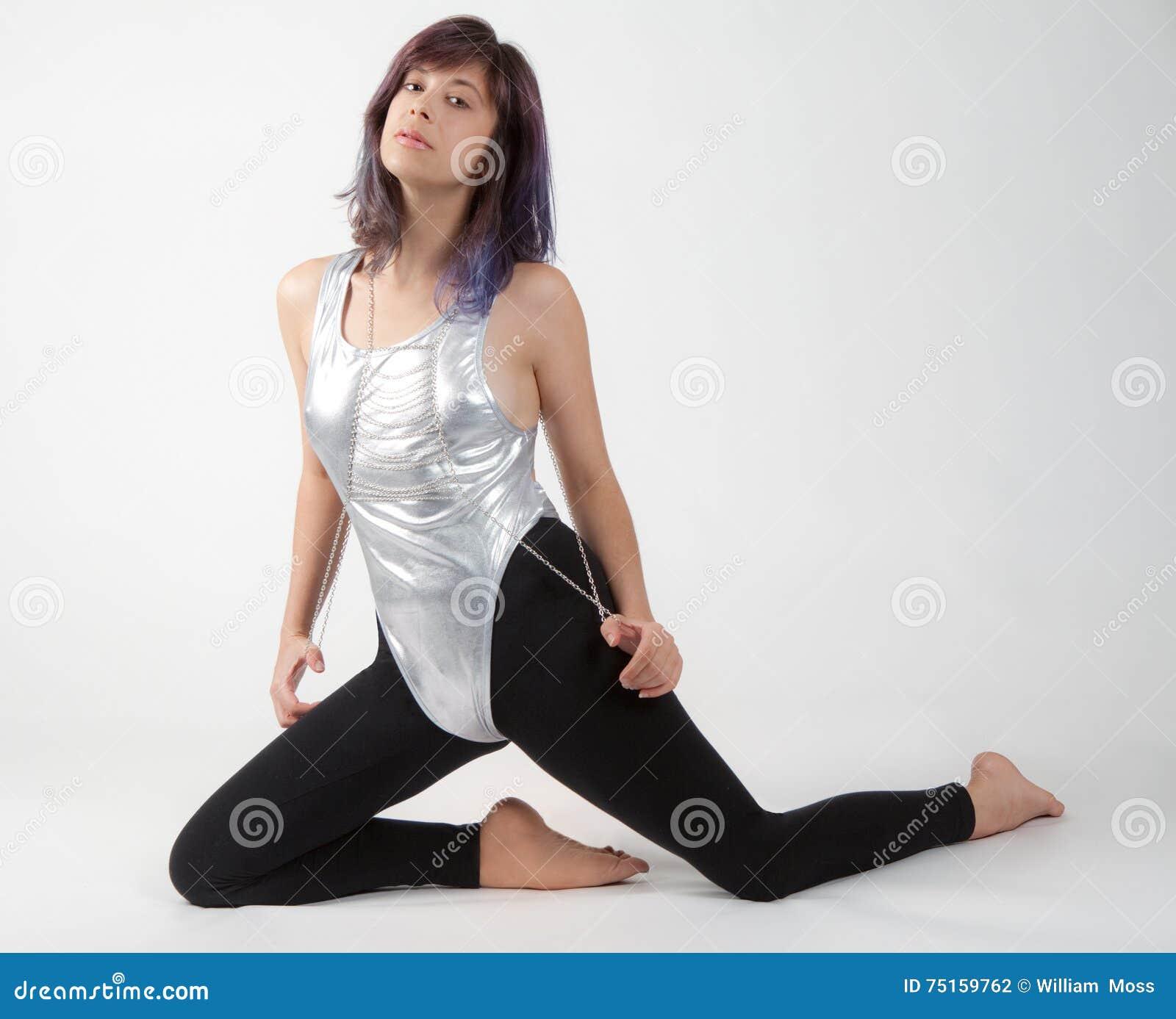 Fucking Samples Thin Woman In Leotard