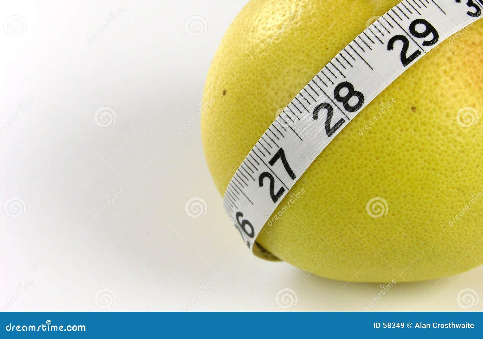 Fita de medição da pamplumossa