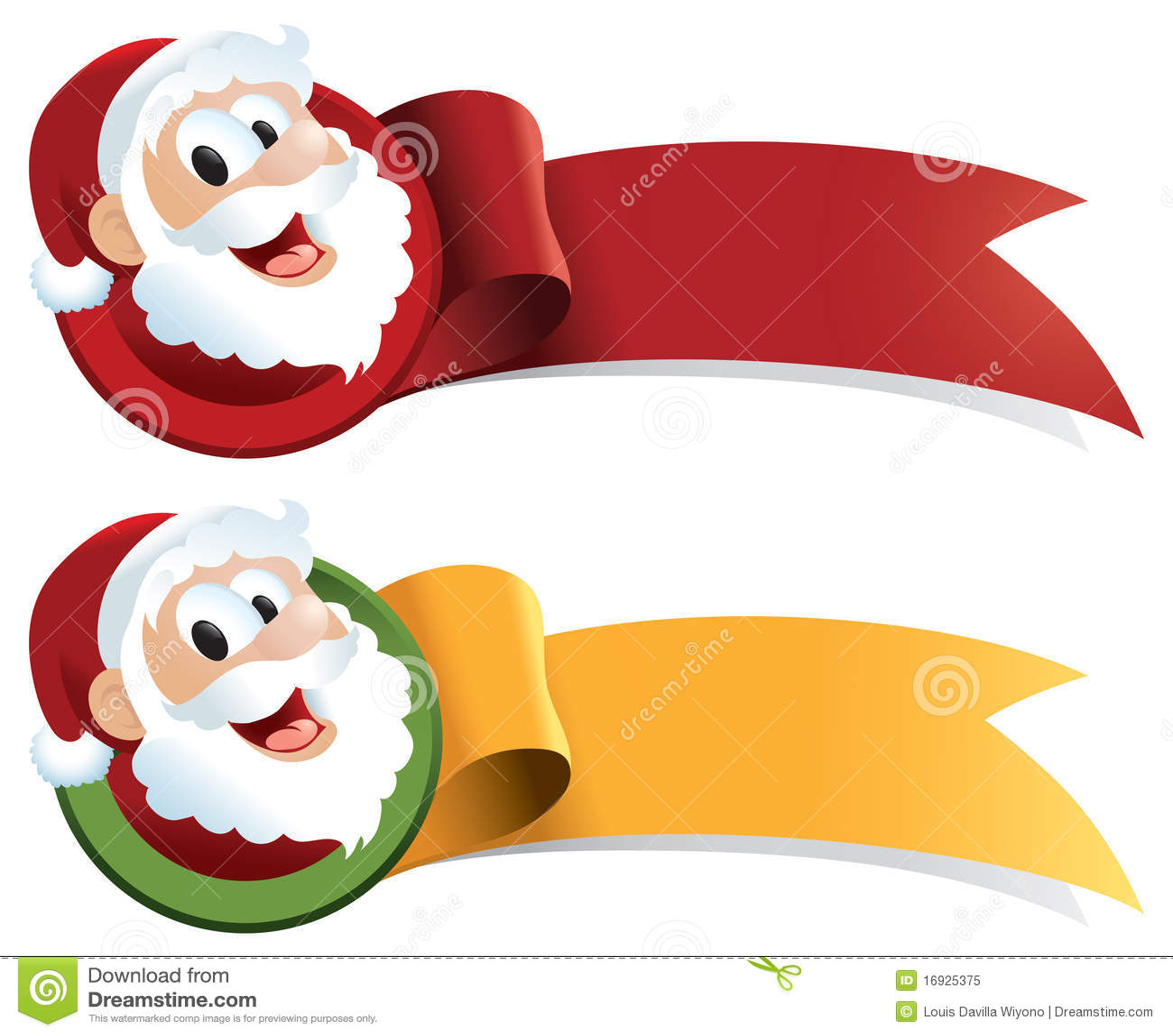 Fita do Web do Natal de Papai Noel