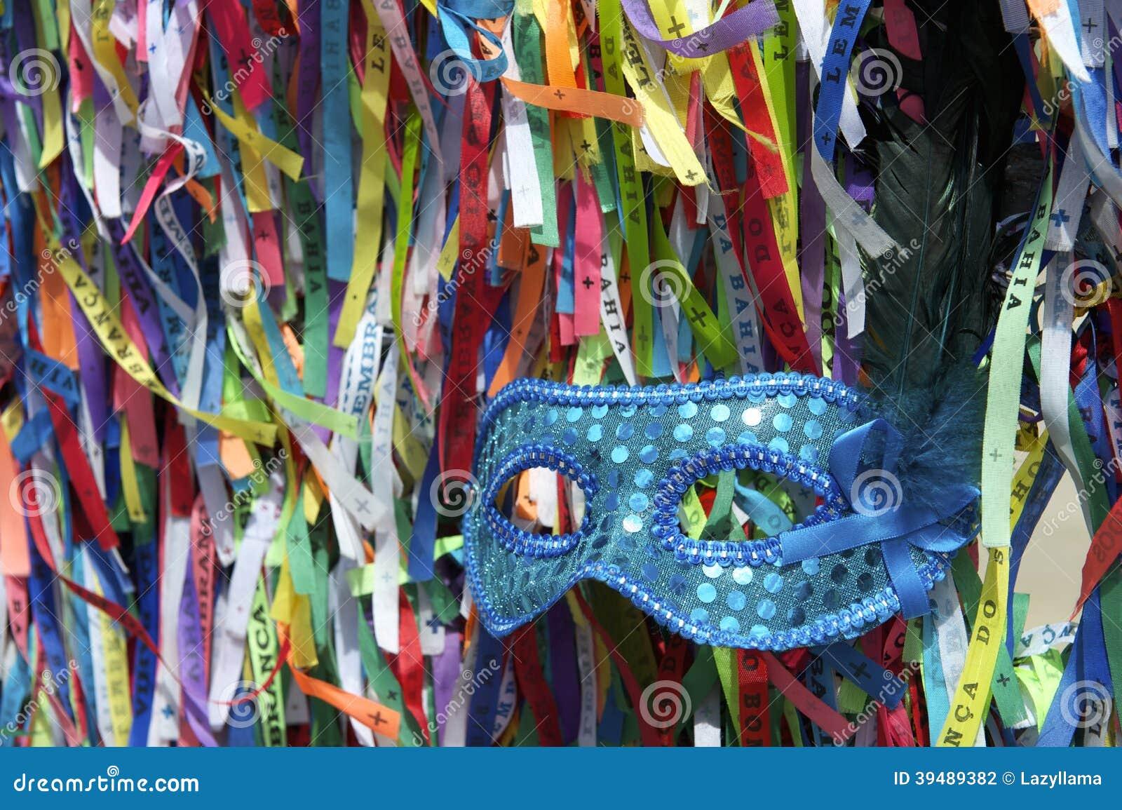Fitas brasileiras do desejo da máscara do carnaval