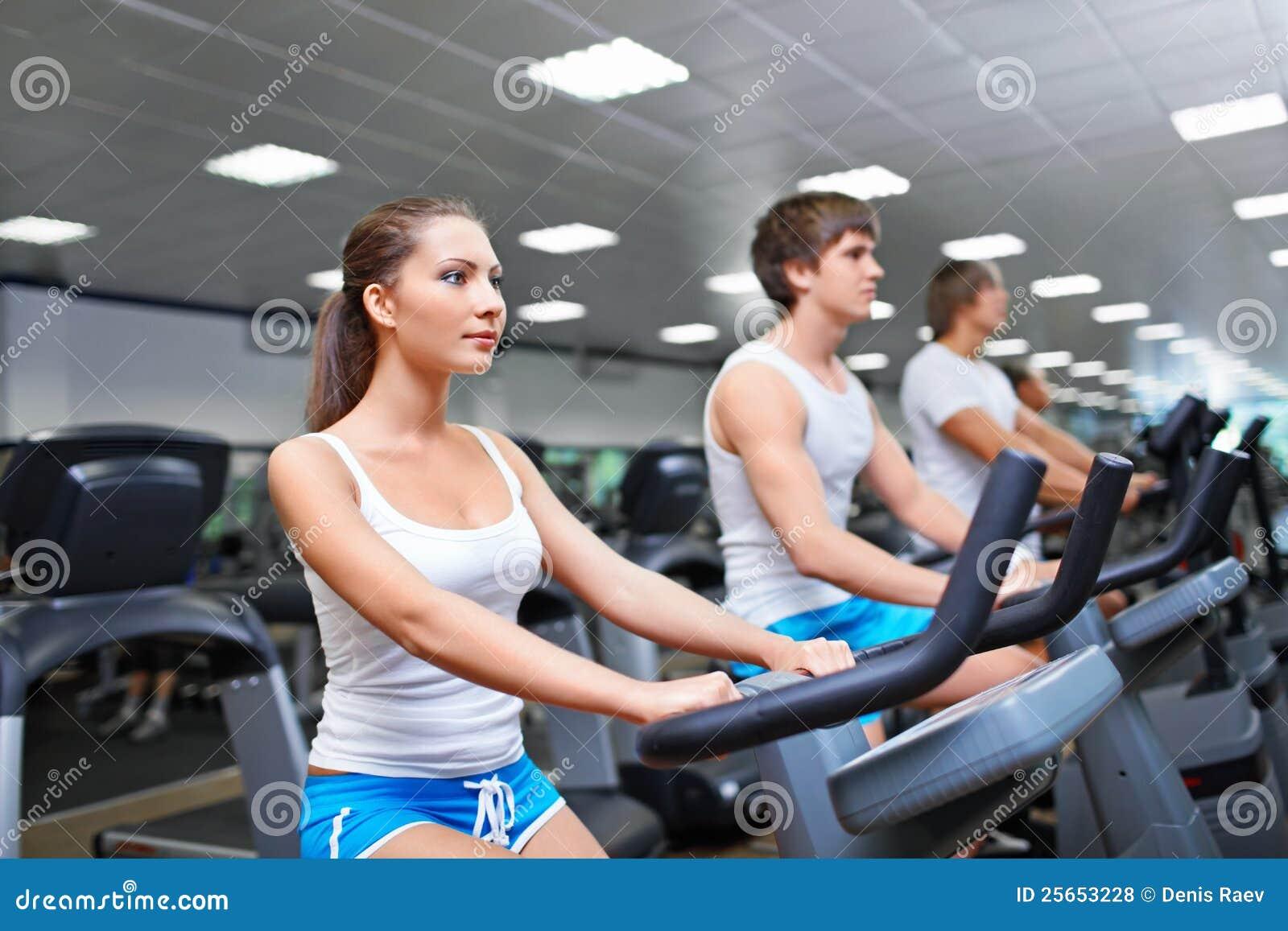 Fitness club stock photo. Image of male, body, caucasian ...