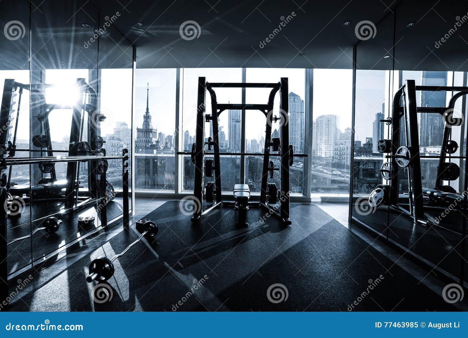 Admirable Fitness Club Interior Stock Image Image Of Kilogram 77463985 Interior Design Ideas Skatsoteloinfo
