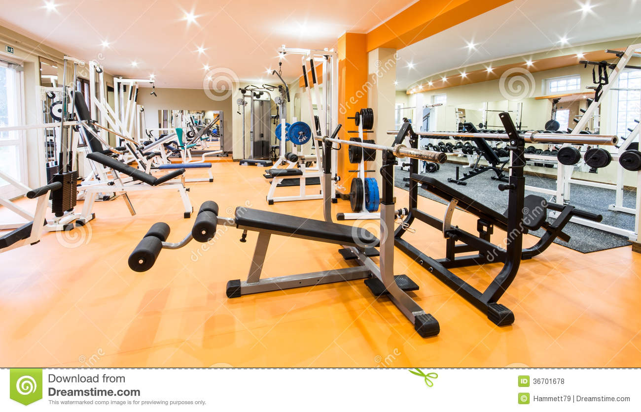 Fitness club royalty free stock photos image