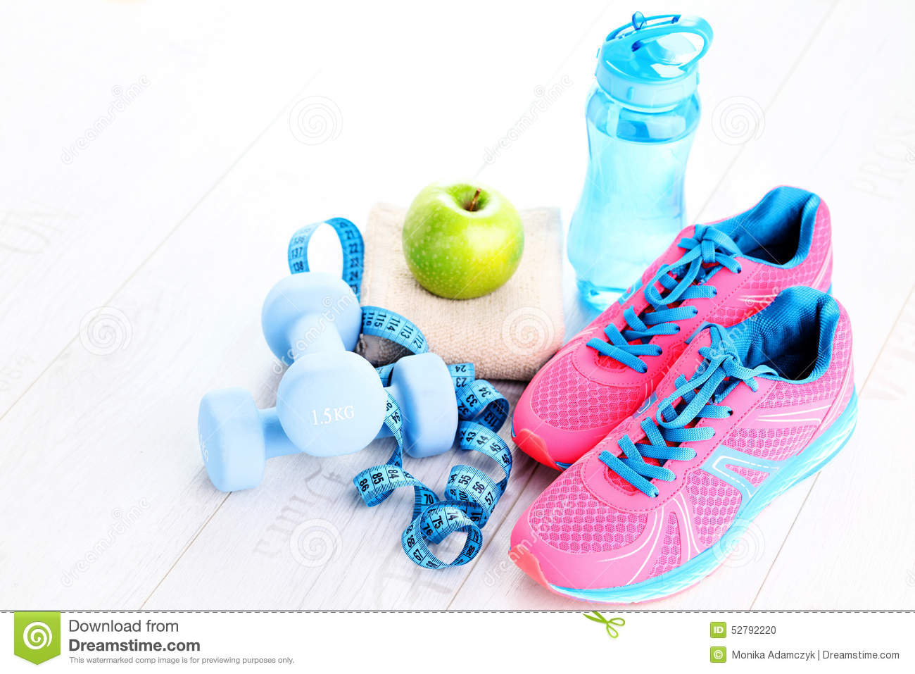 Fitness concept stock photo image of exercise health