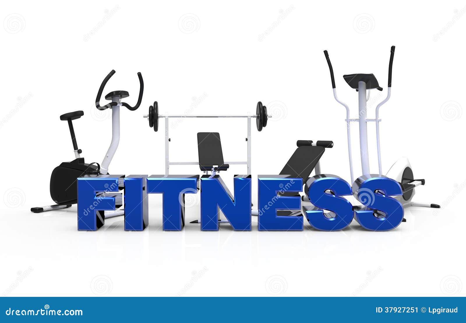 Fitness Equipment 1 Stock Illustration Image Of Equipment