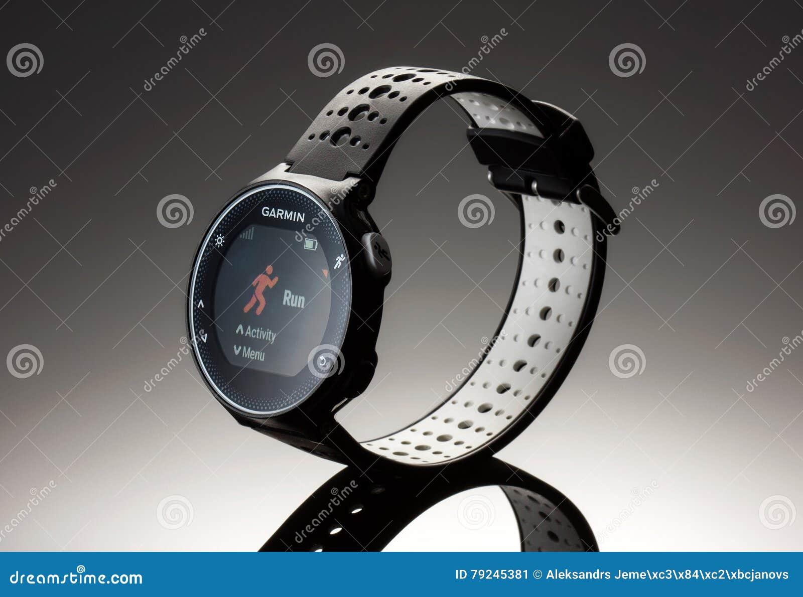 Fitness garmin 230 watch 2016 on dark background editorial photo fitness garmin 230 watch 2016 on dark background editorial stock photo buycottarizona Gallery