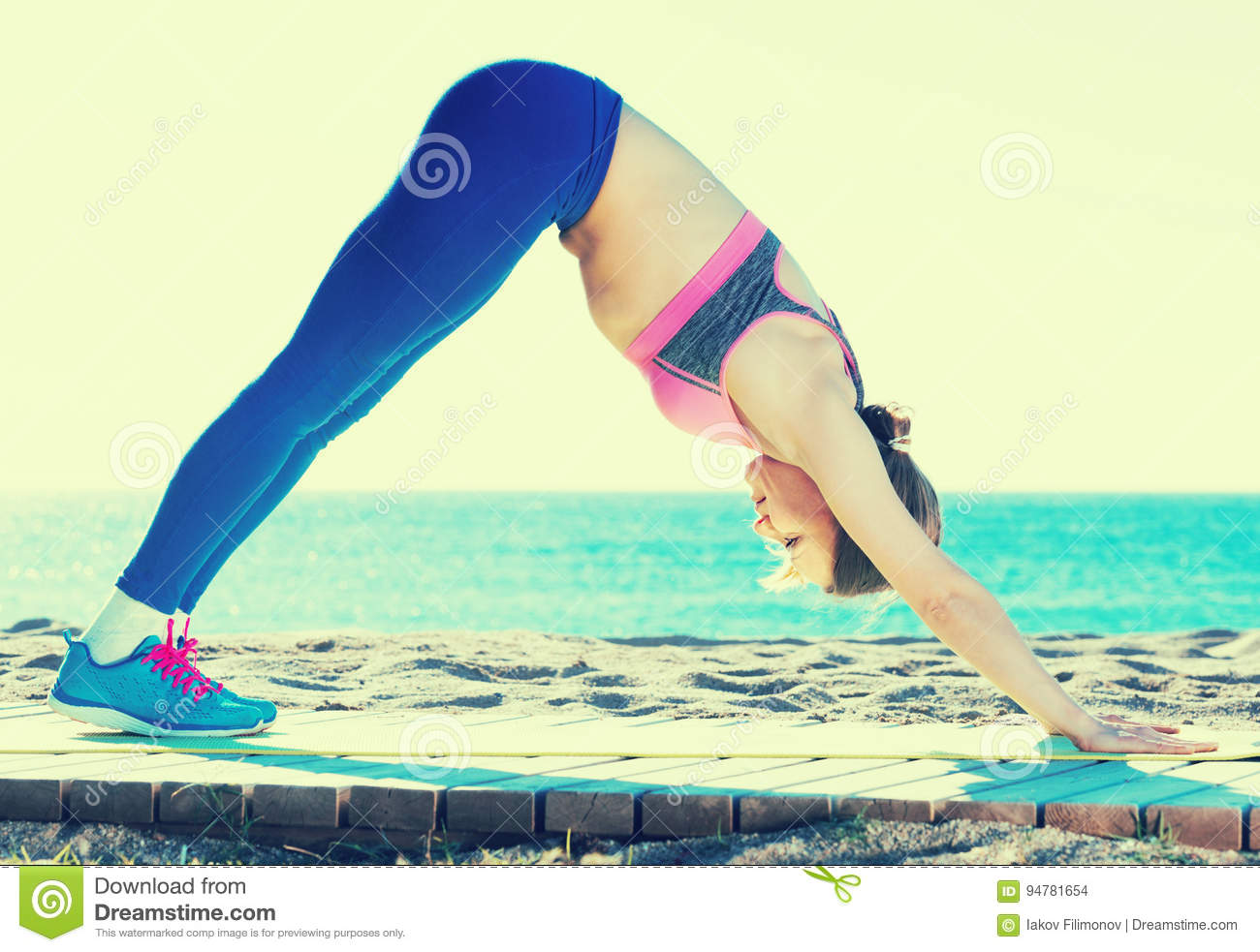 Fit Sporty Woman Hips Lower Body Stock Photo - Image: 50582022