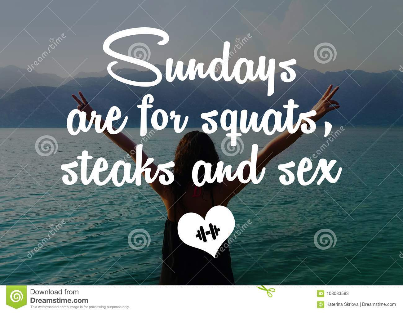 Fitness And Gym Motivation Quote Stock Image Image Of Wallpaper Body 108083583