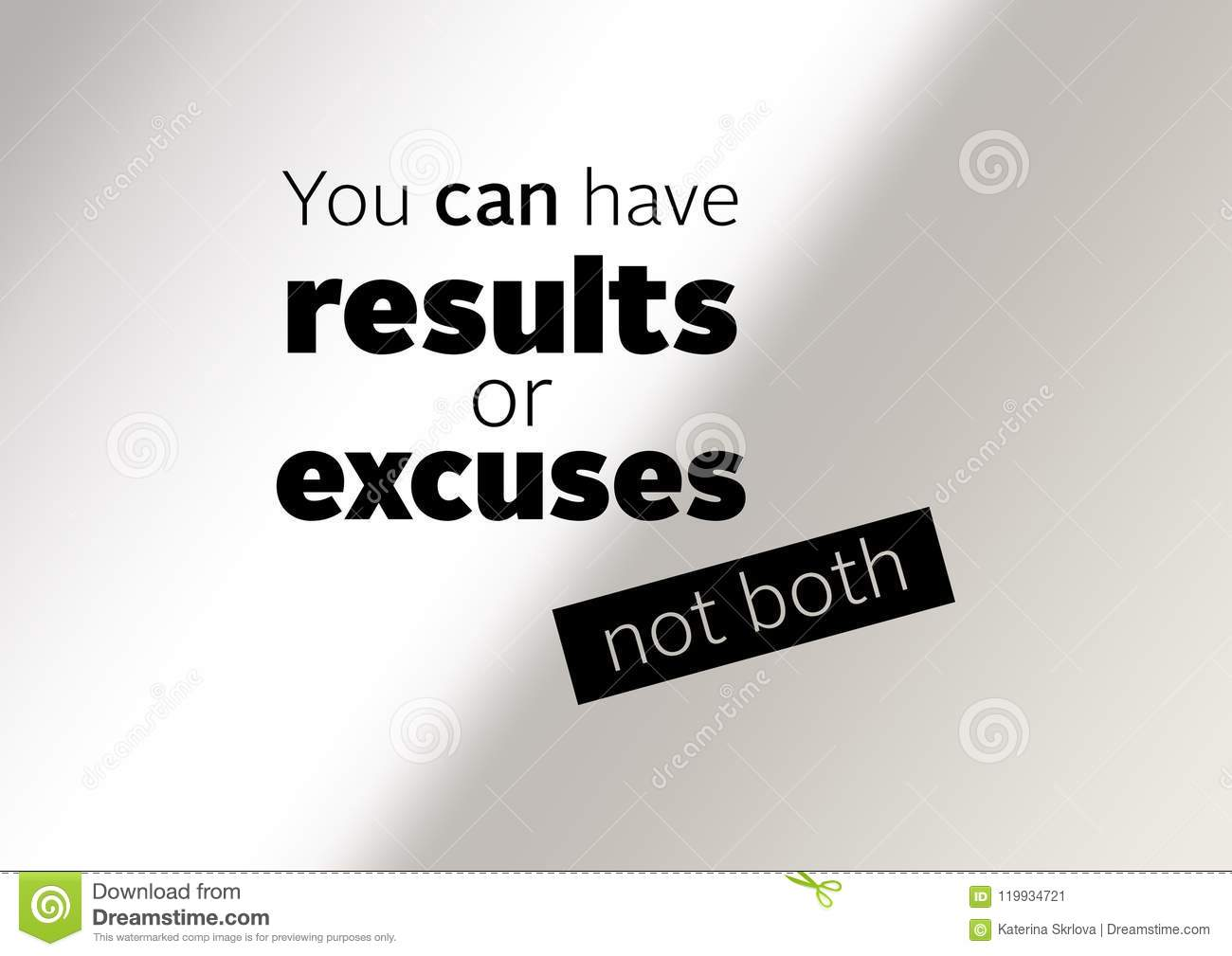 Fitness And Gym Motivation Quote Stock Illustration Illustration Of Healthy Motivation 119934721