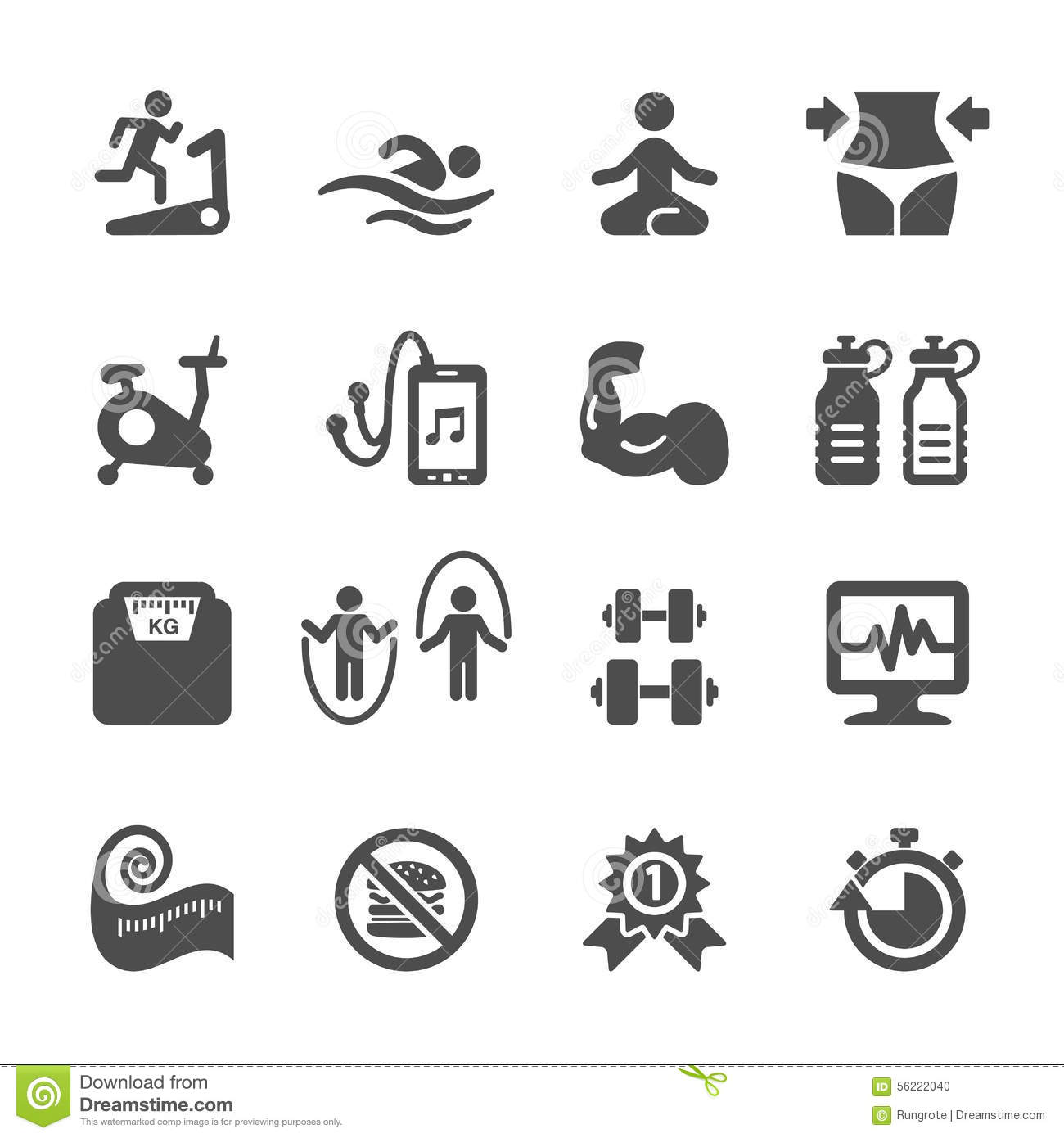 jogging timer auto electrical wiring diagramfitness icon set vector eps10 stock photo