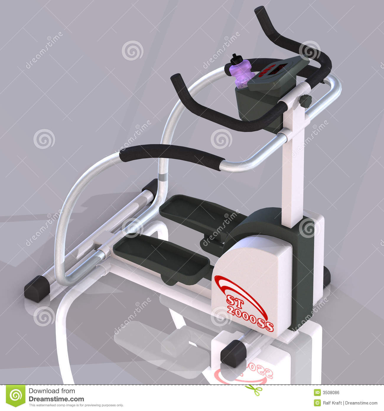 Fitness Machine Stepper Royalty Free Stock Image