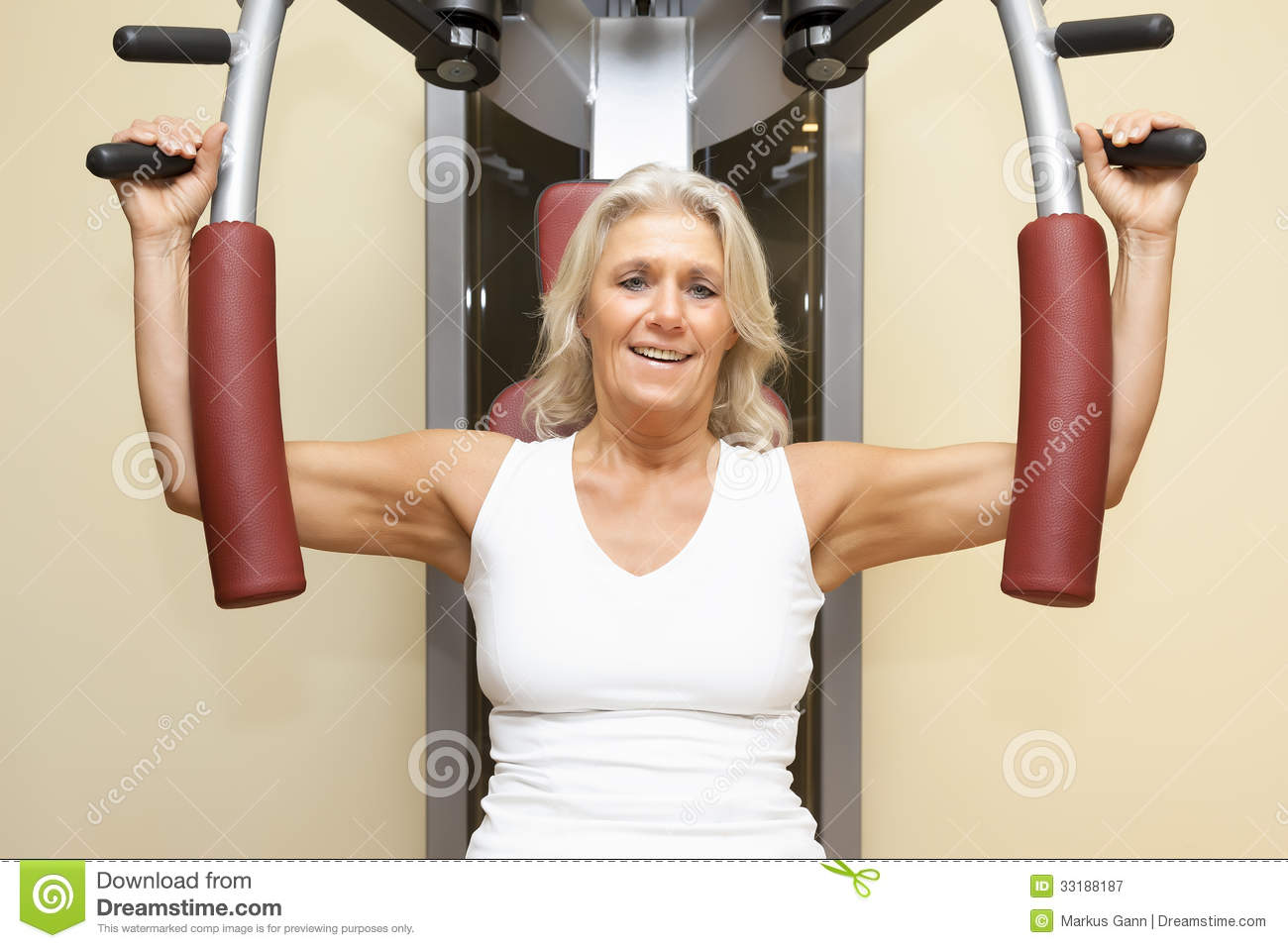 Fitness mature woman royalty free stock photography for Lady fitness