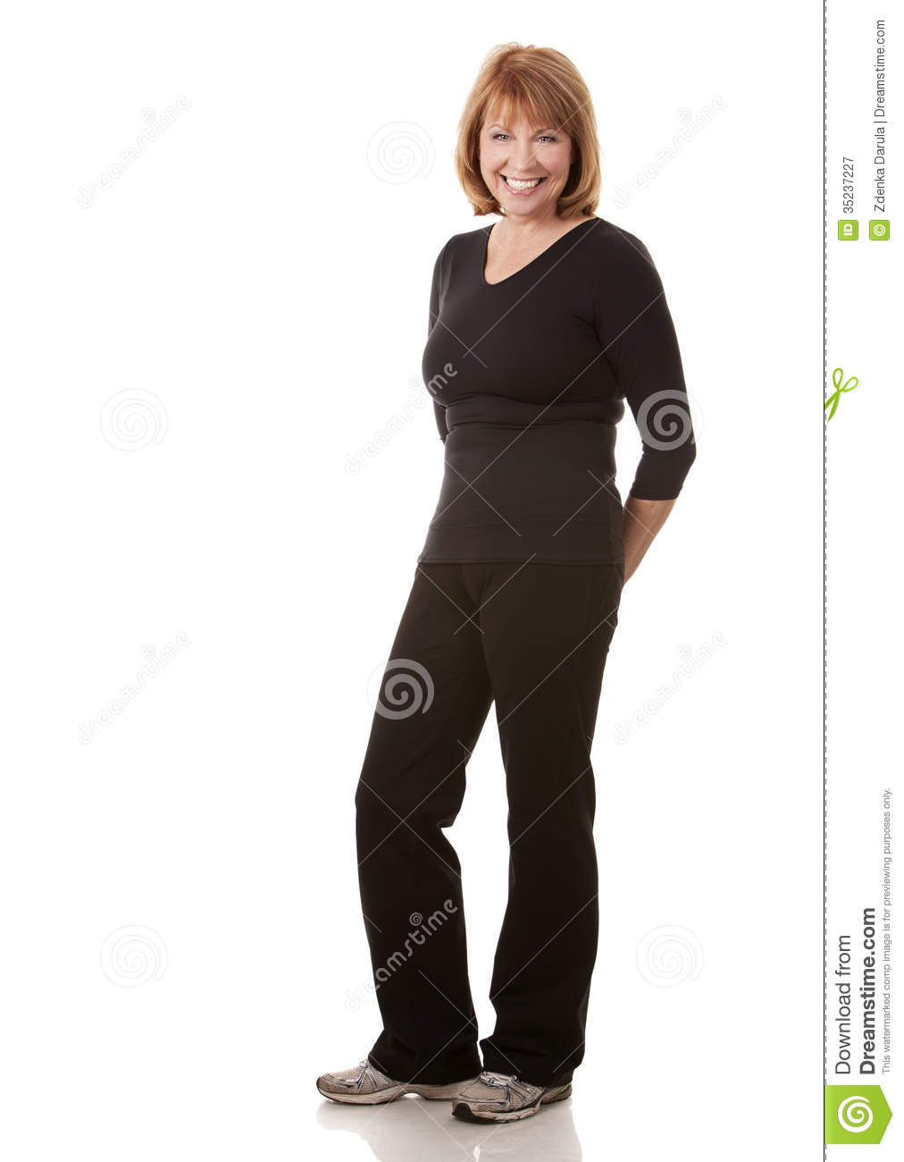 Fitness Mature Woman Royalty Free Stock Photography - Image 35237227-3872