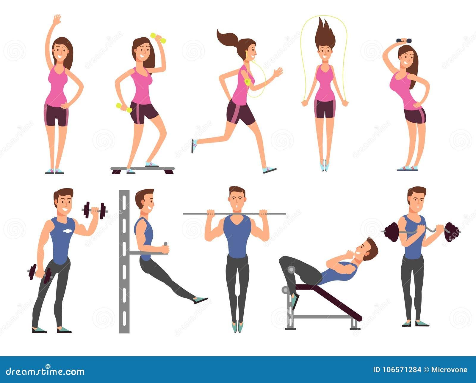 Fitness Equipment Stock Illustrations – 35,663 Fitness