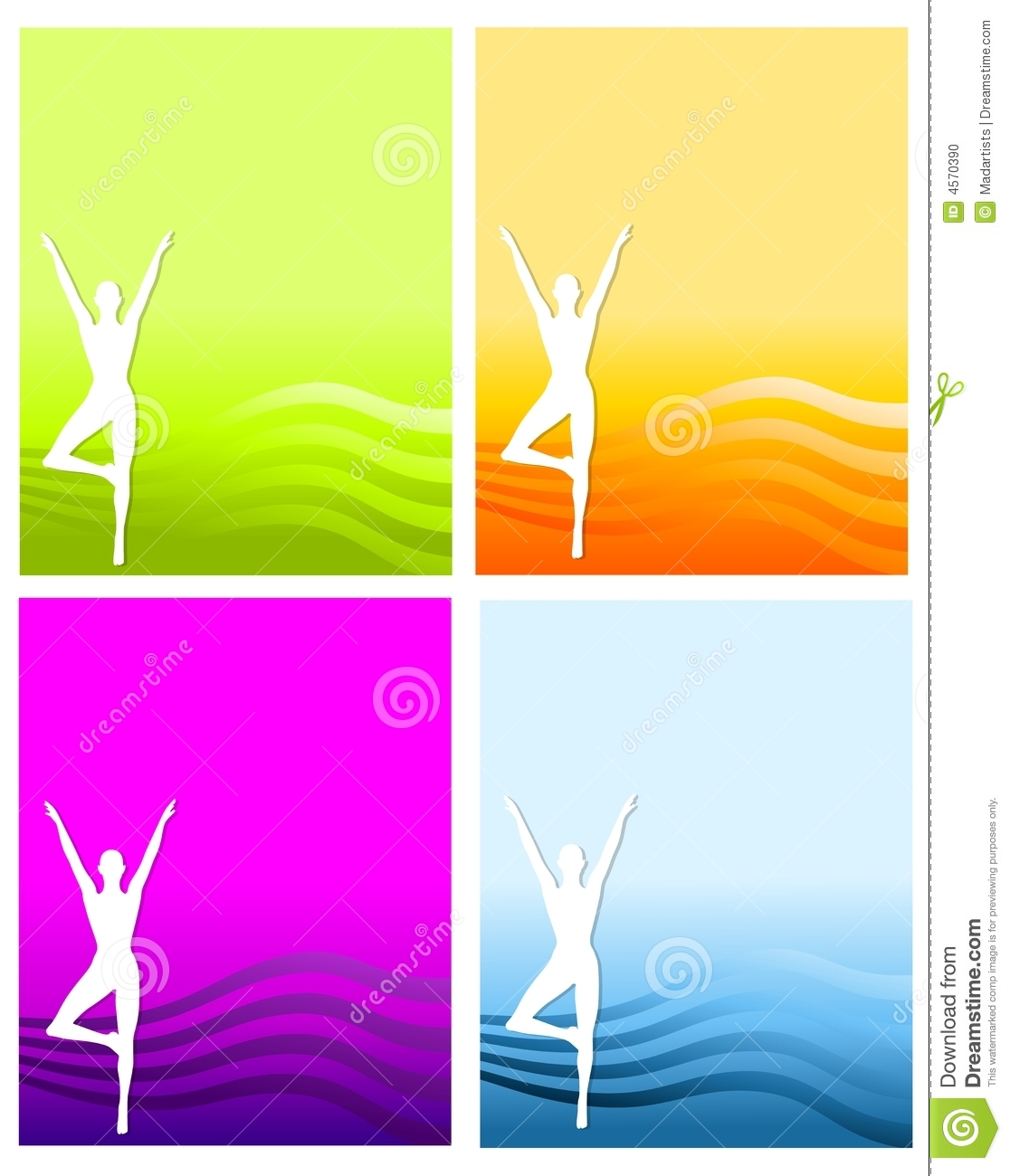 fitness silhouette backgrounds stock photo