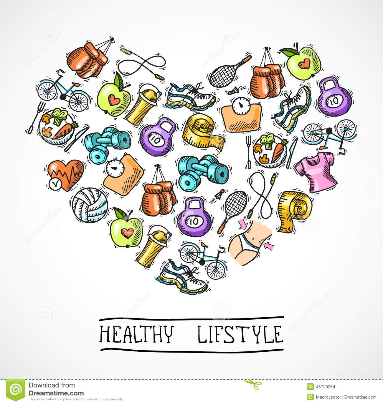 Healthy Body Web Design Ideas