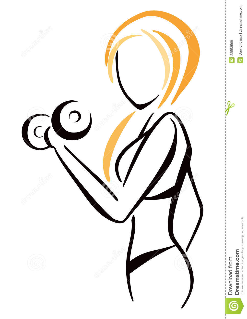 Weight based Women Workout (W3) Textures - Models ...