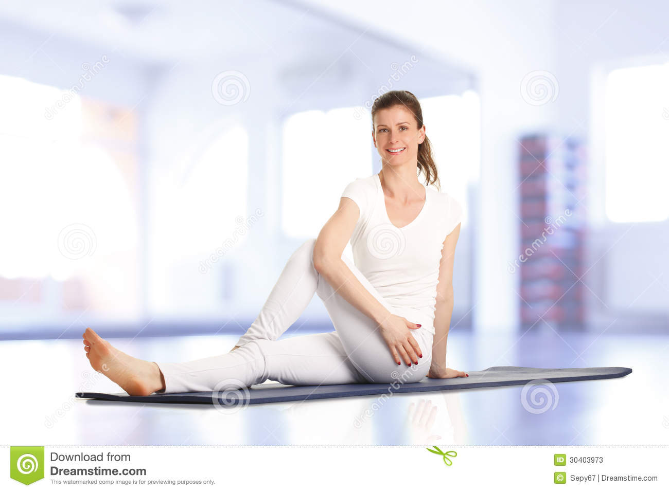 Fitness Trainer Stock Photos Image 30403973