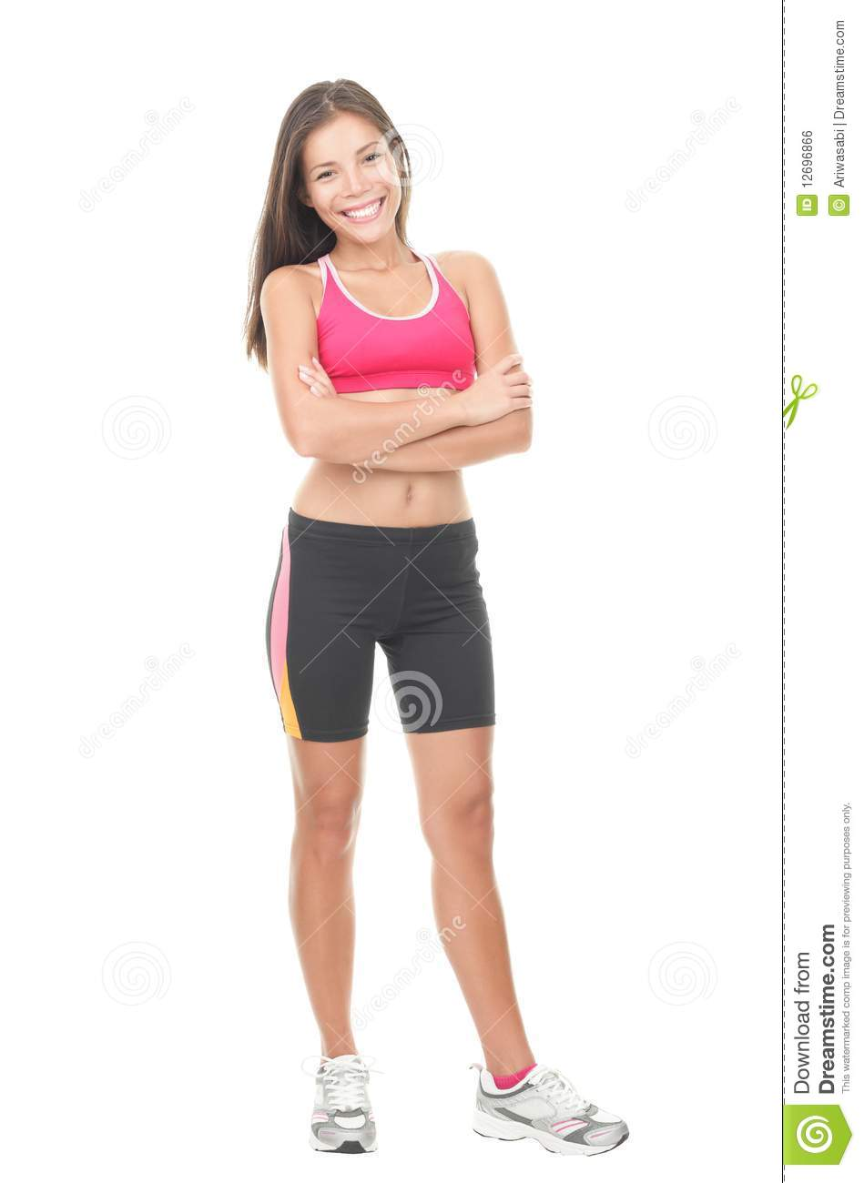 fitness woman full length stock photo image of healthy