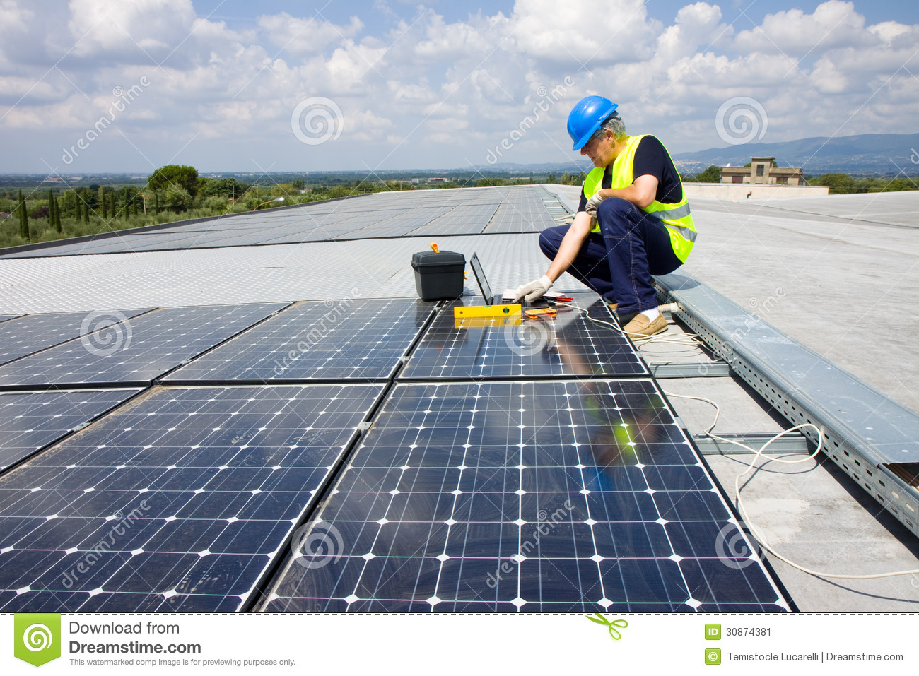 Fitting photovoltaic