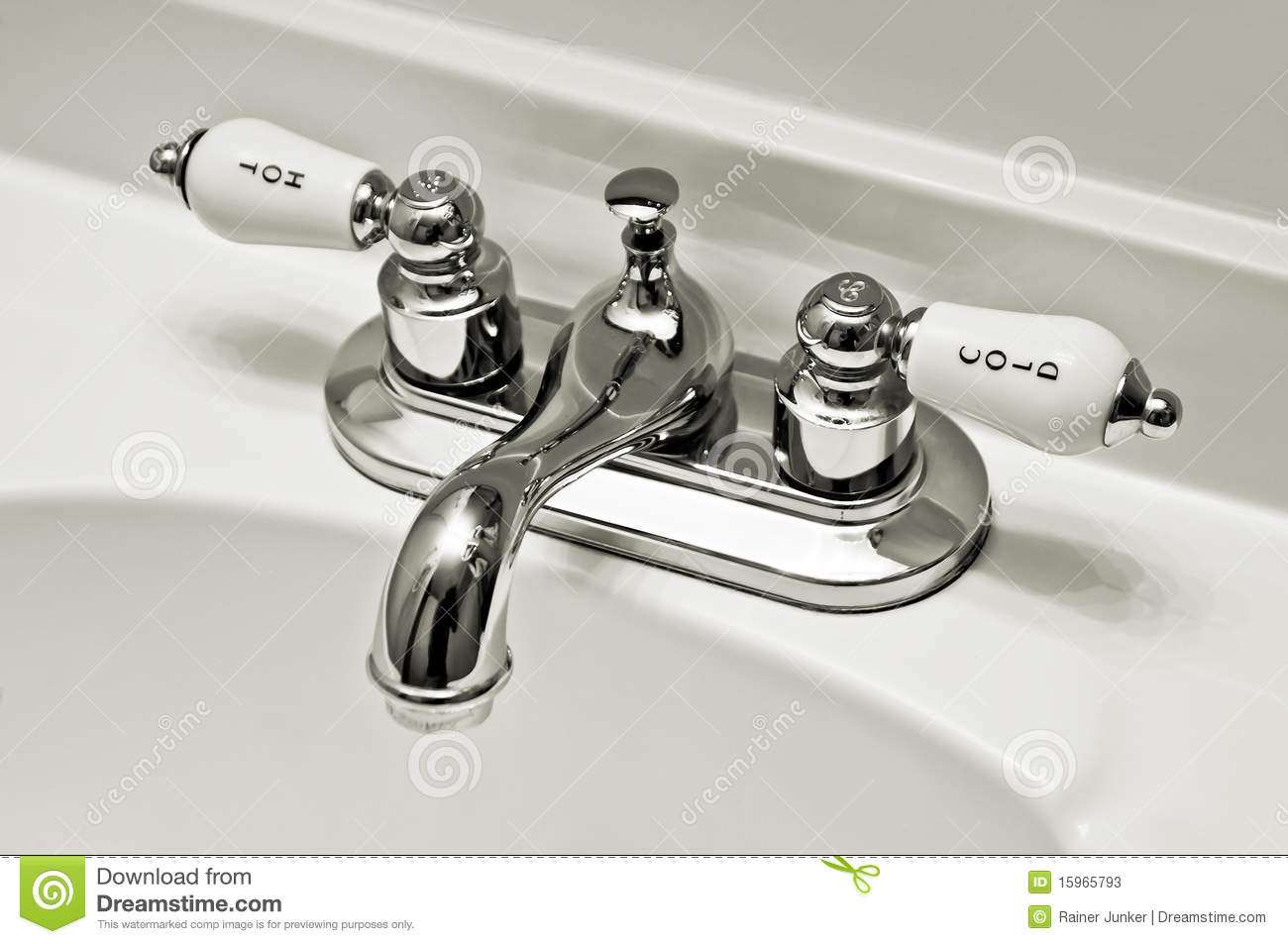 Fittings Sink Stock Photos Image 15965793