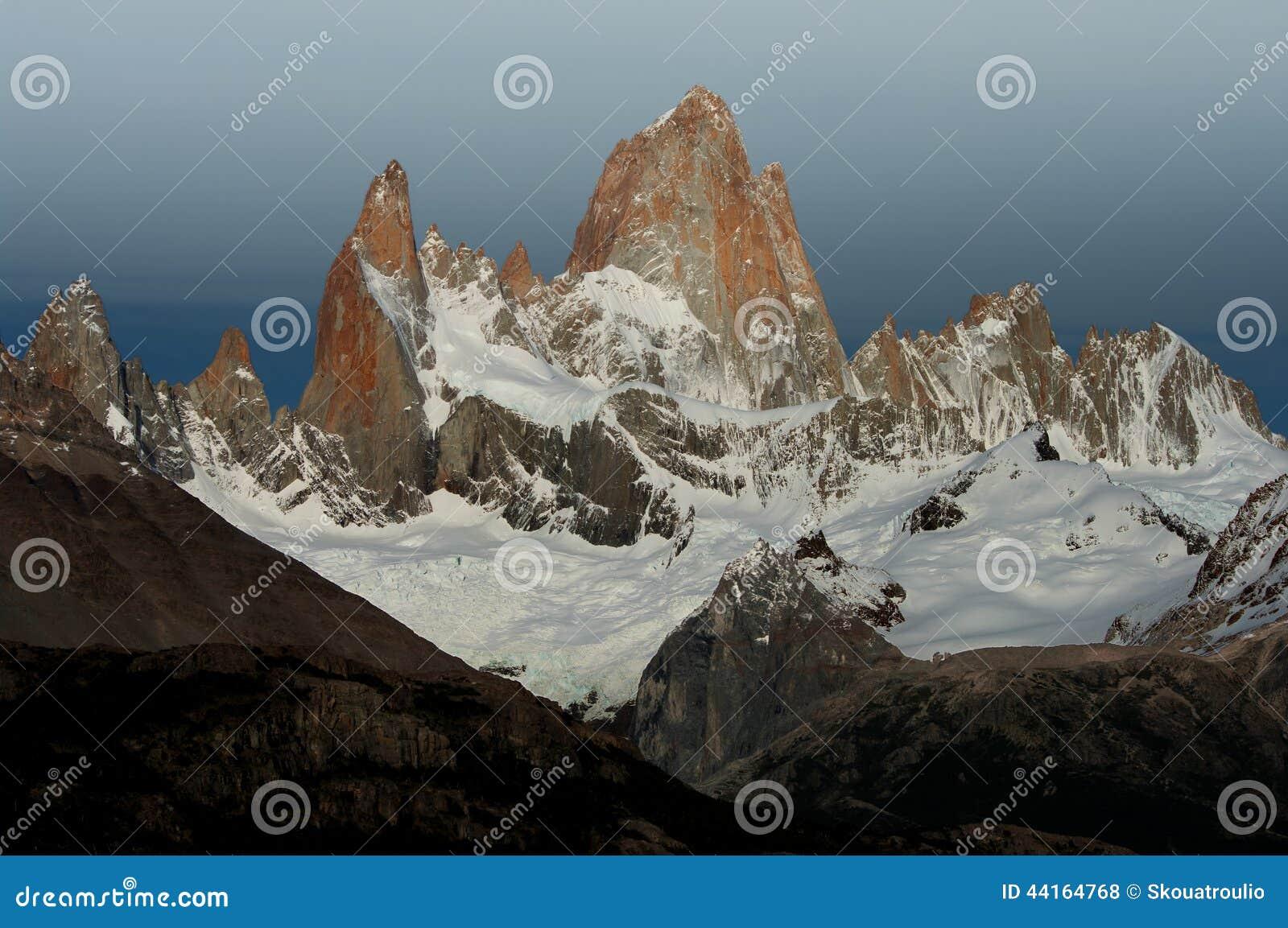 Fitz Roy Stock Photo Image Of Mountaineering Symbol 44164768