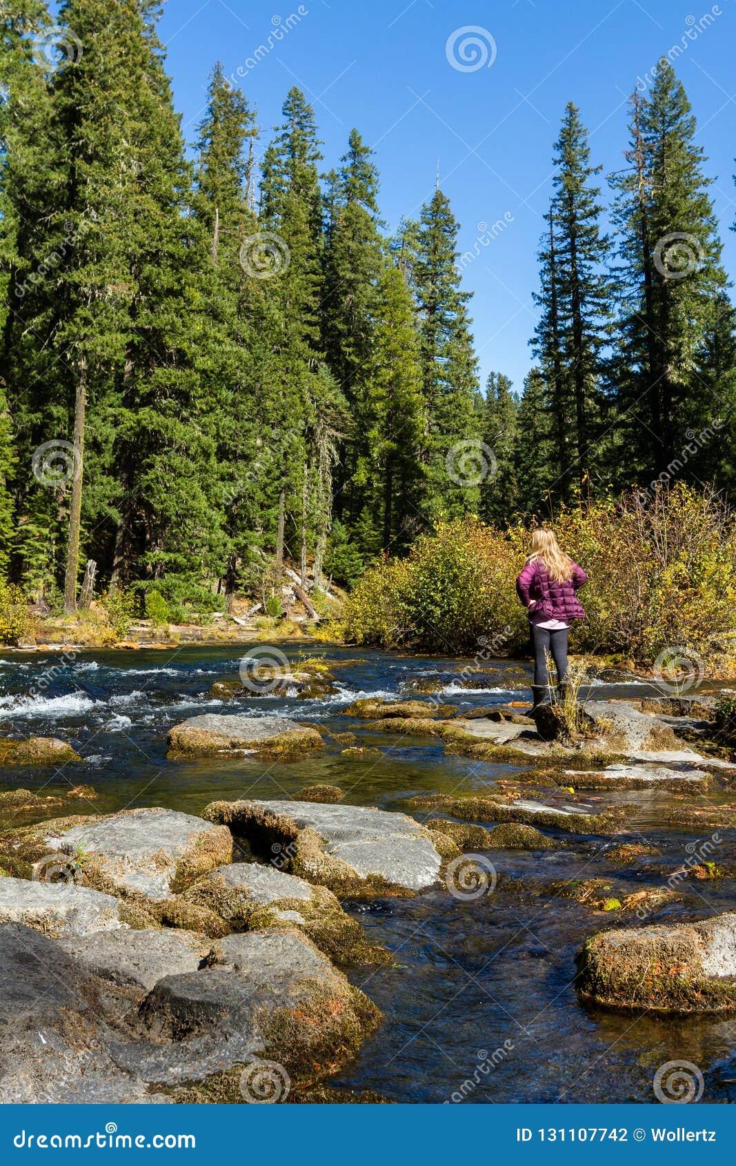 Fiume del rossetto, Oregon