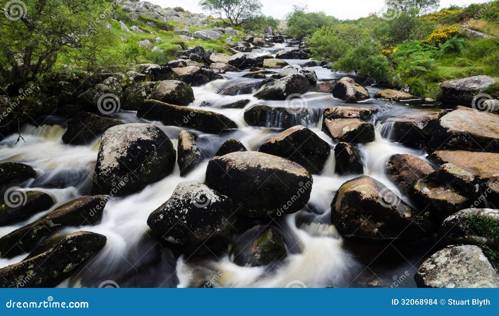 Fiume di Dartmoor
