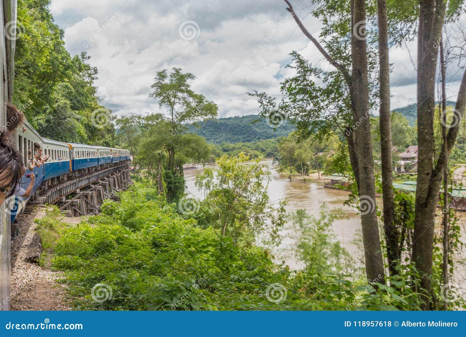 Fiume di Kwai e la ferrovia di morte