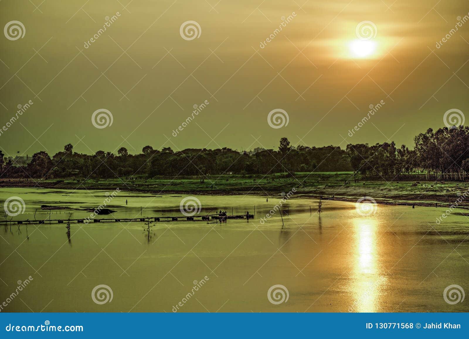 Fiume di Punorvoba, Dinajpur,  del jshÄ del  di RÄ ciao, il Bangladesh