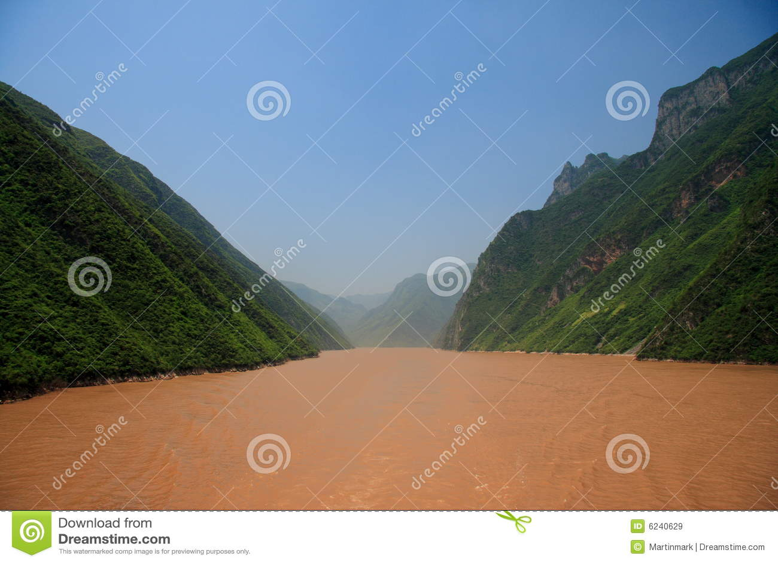 Fiume di Yangtze