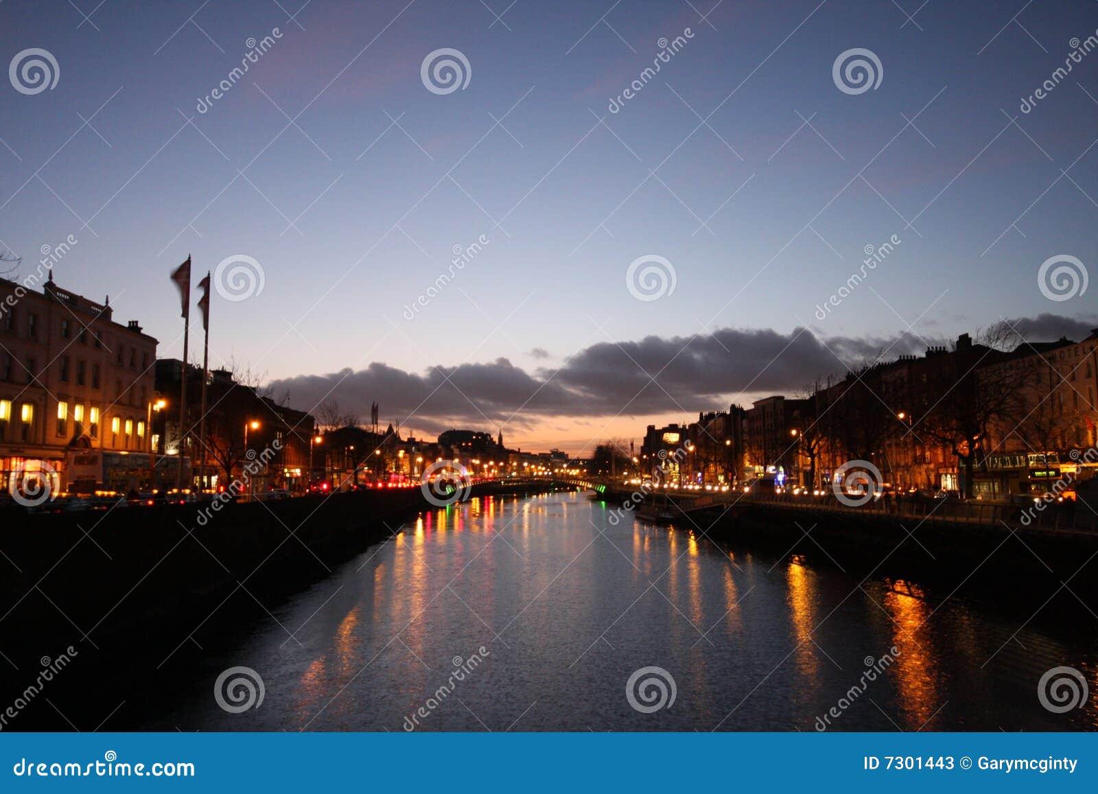 Fiume Liffey Dublino