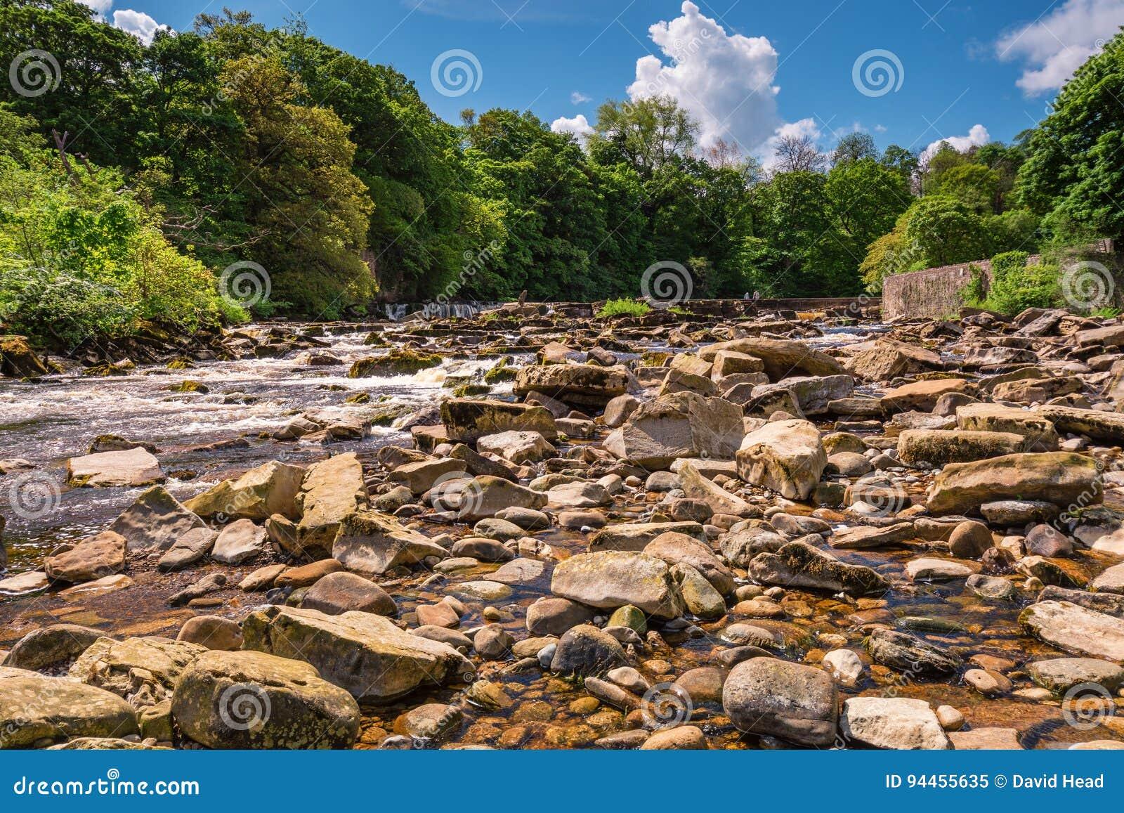 Fiume Swale sotto Richmond Falls