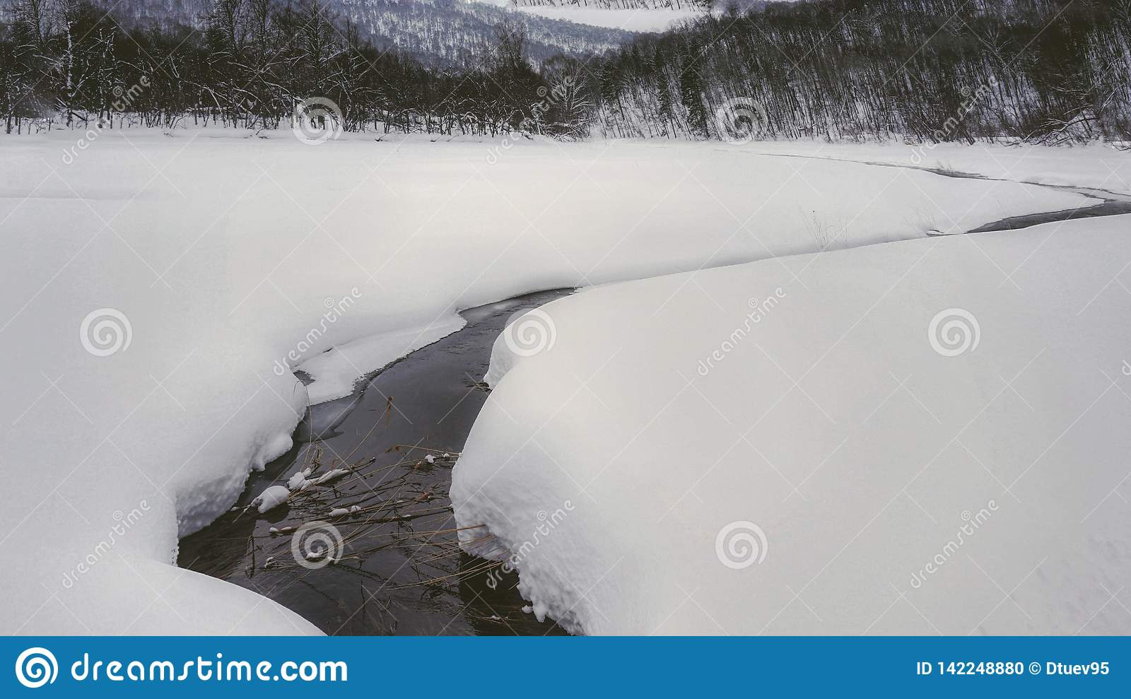 Fiume in ural