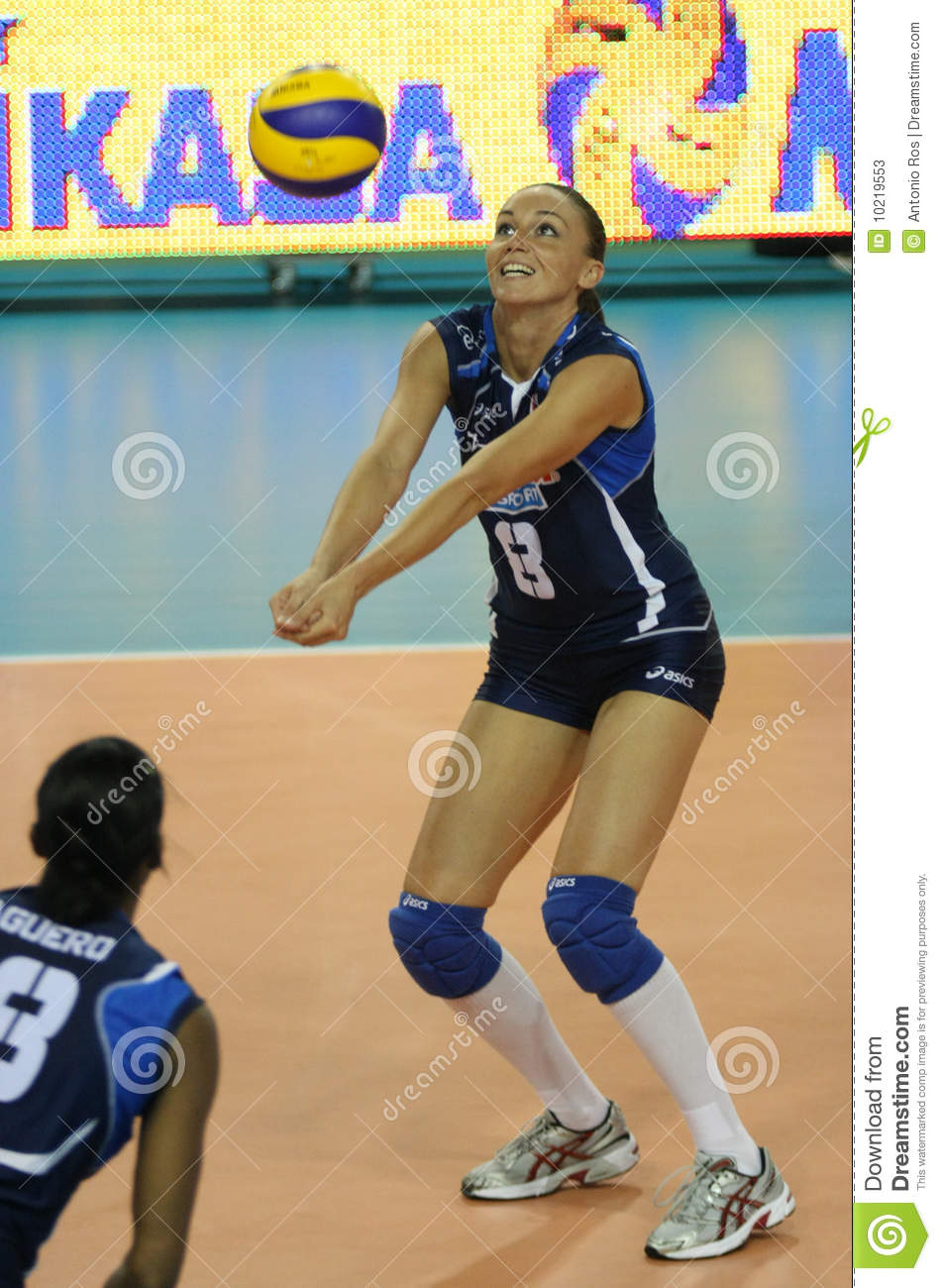 Download FIVB WOMEN'S VOLLEYBALL CHAMPIONSHIP - ITALY Editorial Stock Photo - Image of barazza, team: 10219553
