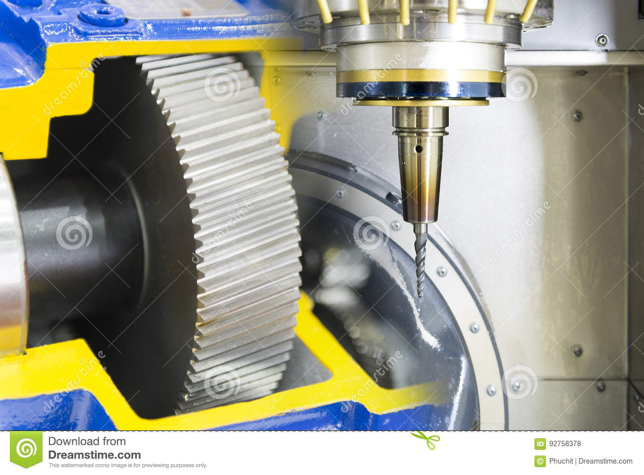 The Five Axis Cnc Machine