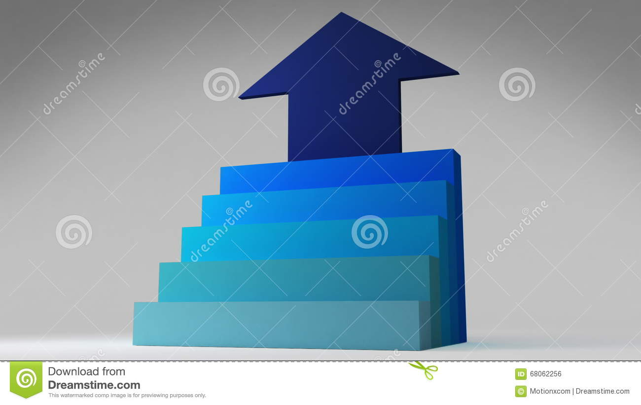 Five 3d Stair Step Arrow Square Intro Title Box Diagram Chart Steps Diagrams Collection For Powerpoint Presentations Download Now Chartpowerpoint Presentation Template Stock Footage Video Of Illustration Element 68062256
