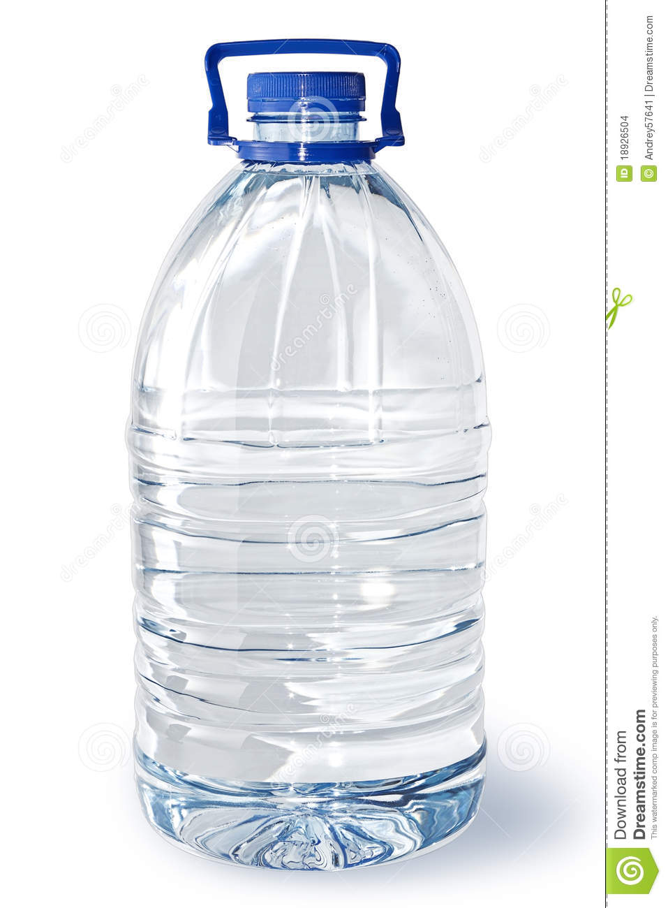 Five Liter Bottle Of Water Stock Photo Image Of Freshness
