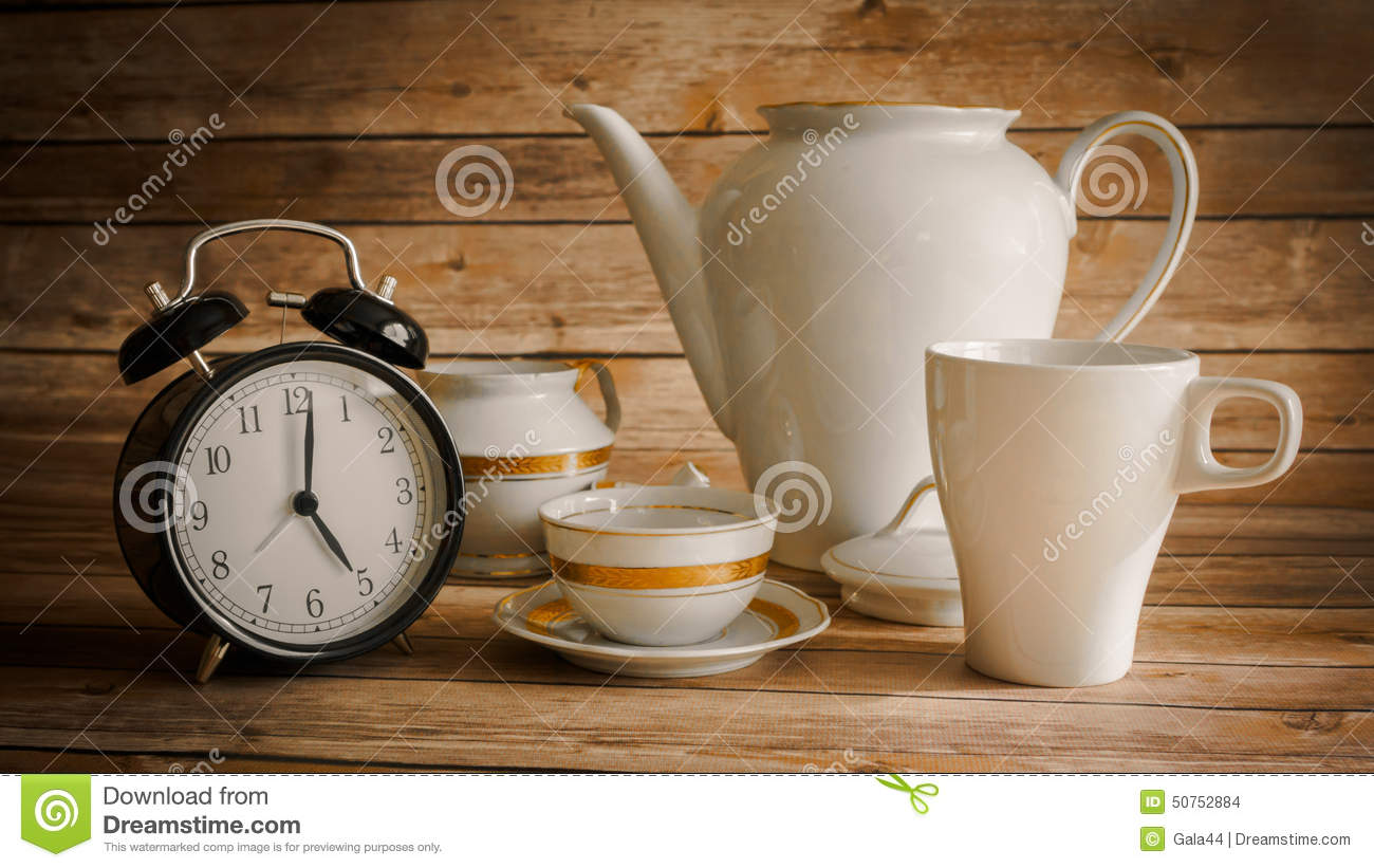 Five OClock Tea Stock Photo Image 50752884