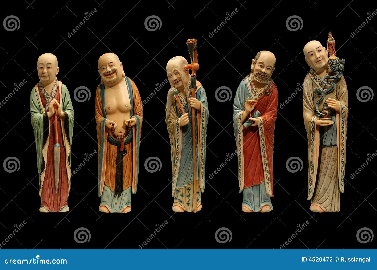 Five old men