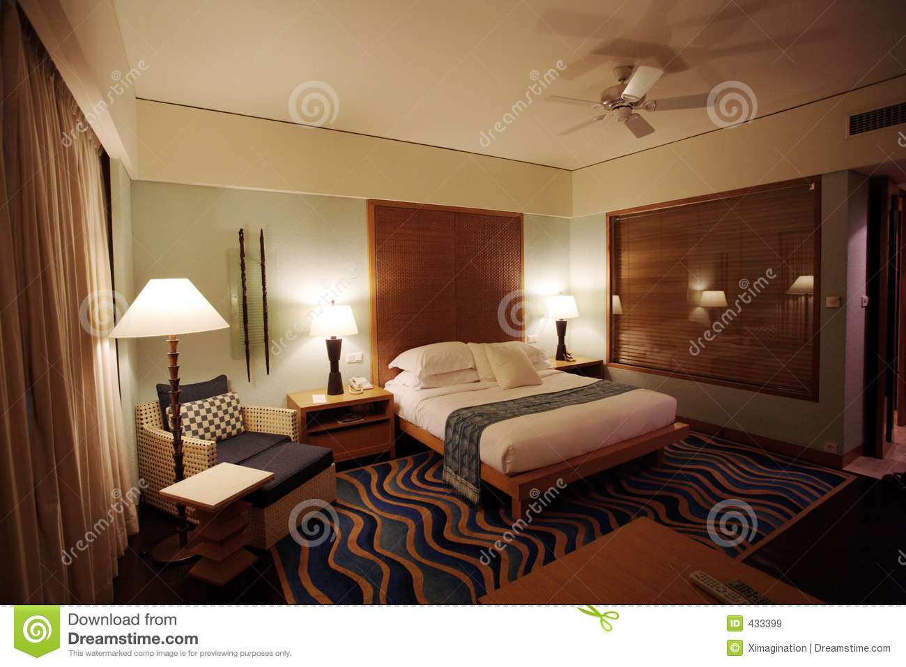 Five star hotel bedroom stock image image of relax for 5 bedroom