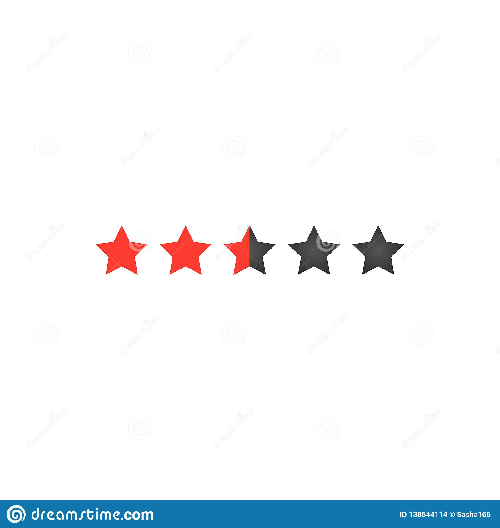 Five Star App >> Five Star Rating For Web Or App Buttons For Sites Feedback Concept
