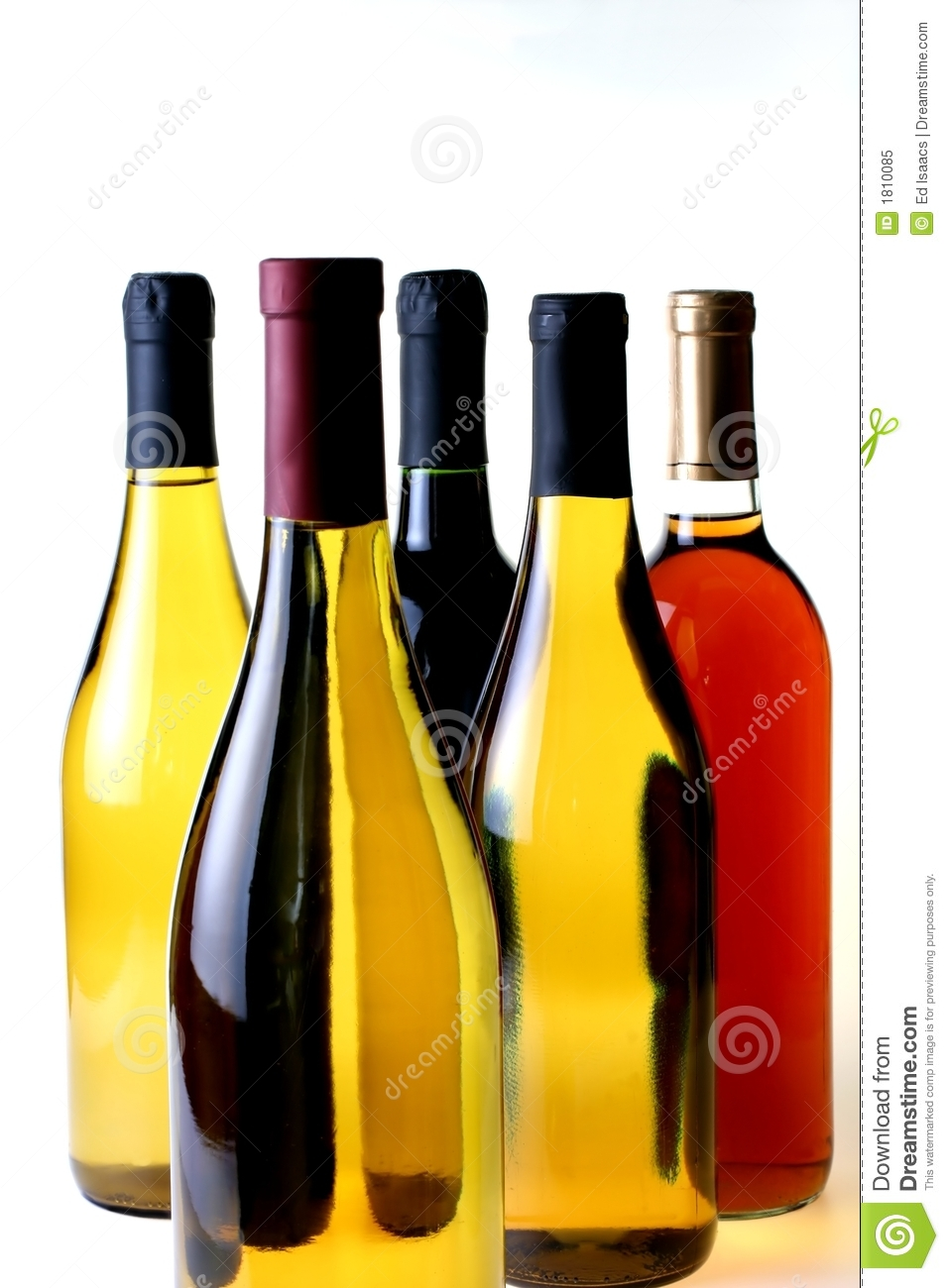 five wine bottles stock image image of black alcohol 1810085. Black Bedroom Furniture Sets. Home Design Ideas