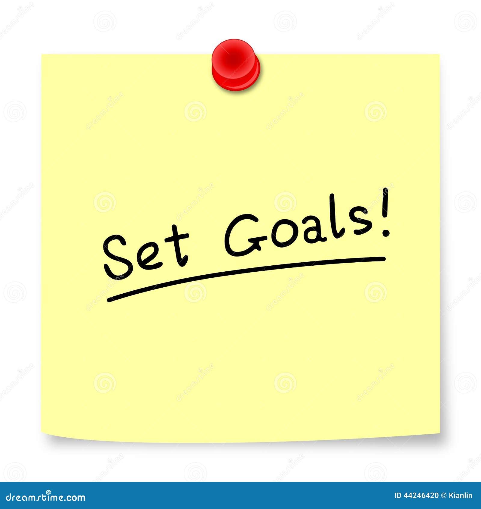Fixez les buts