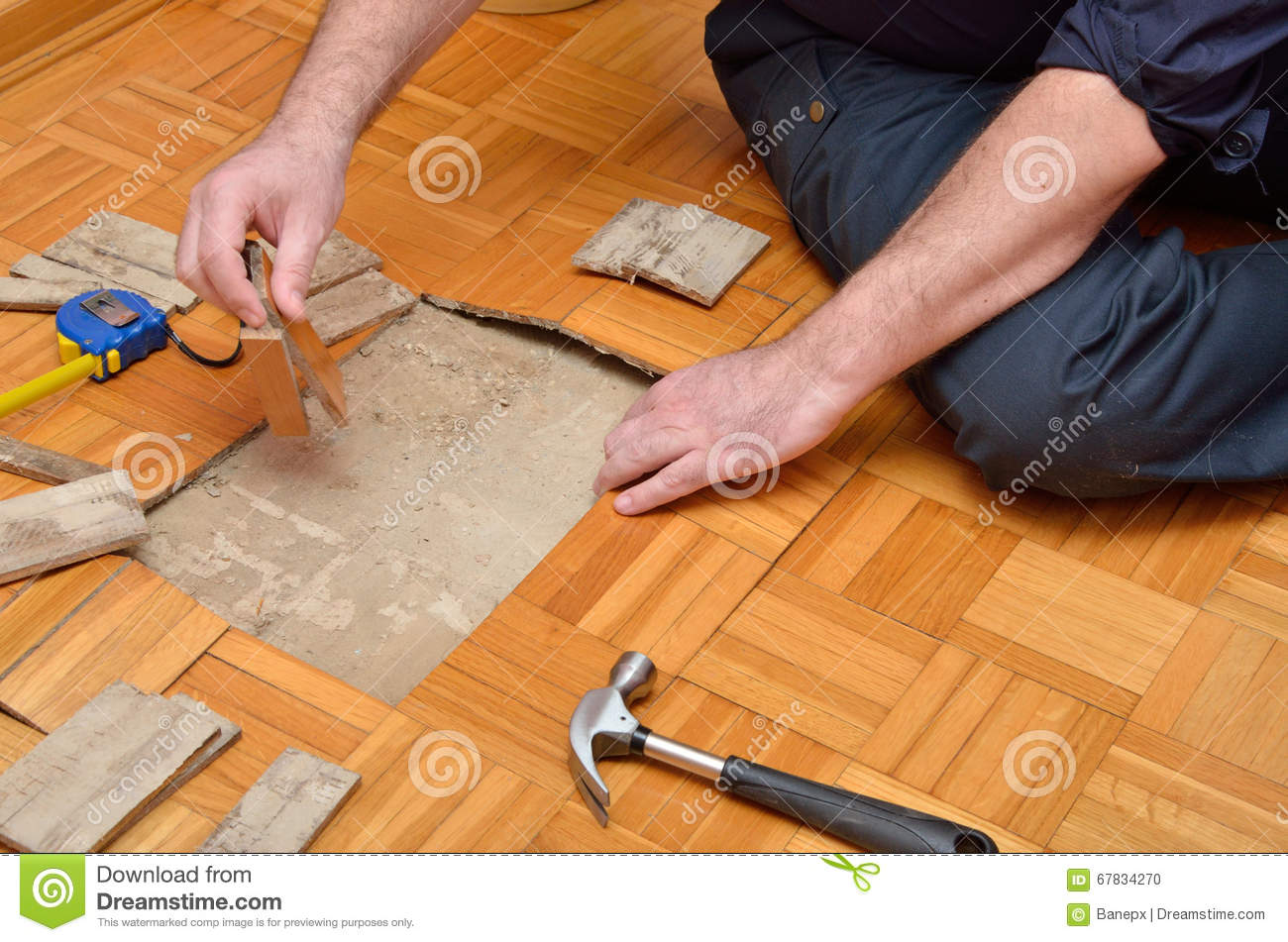 Fixing Parquet in the Apartment
