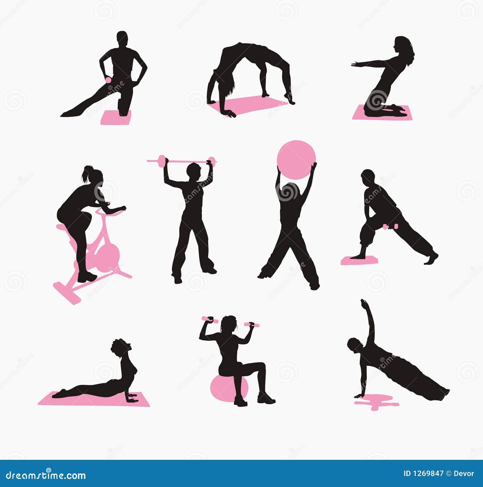 Fizyczne fitness kobiety