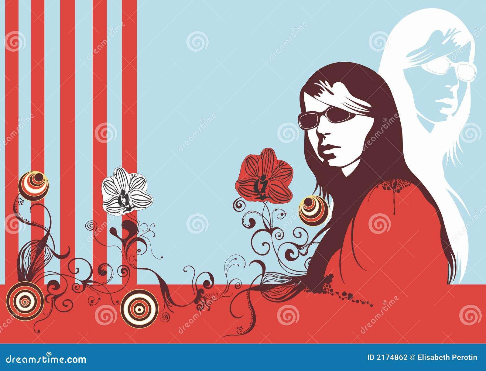 Fjäderkvinna