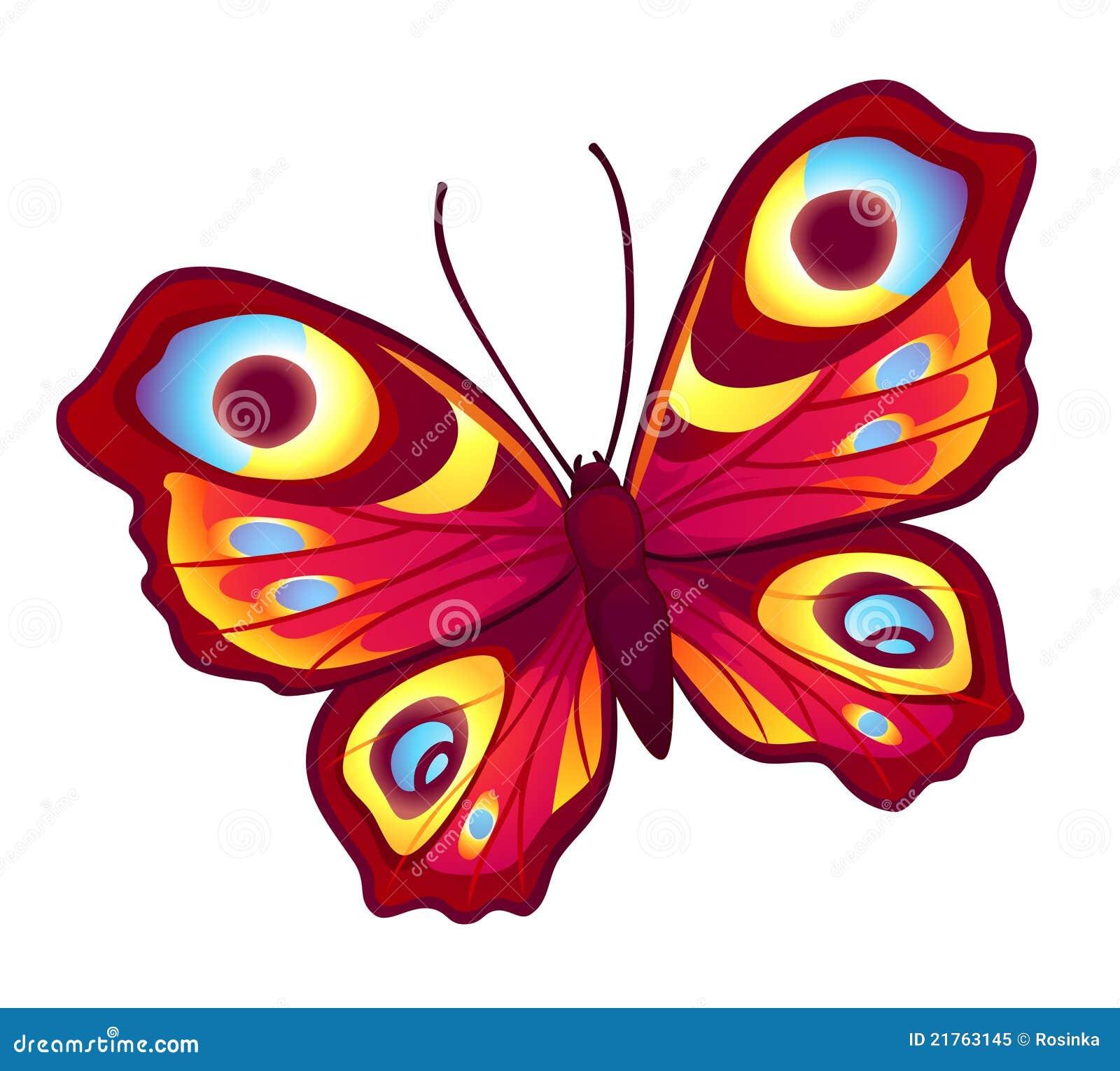 Fjärilsredvektor