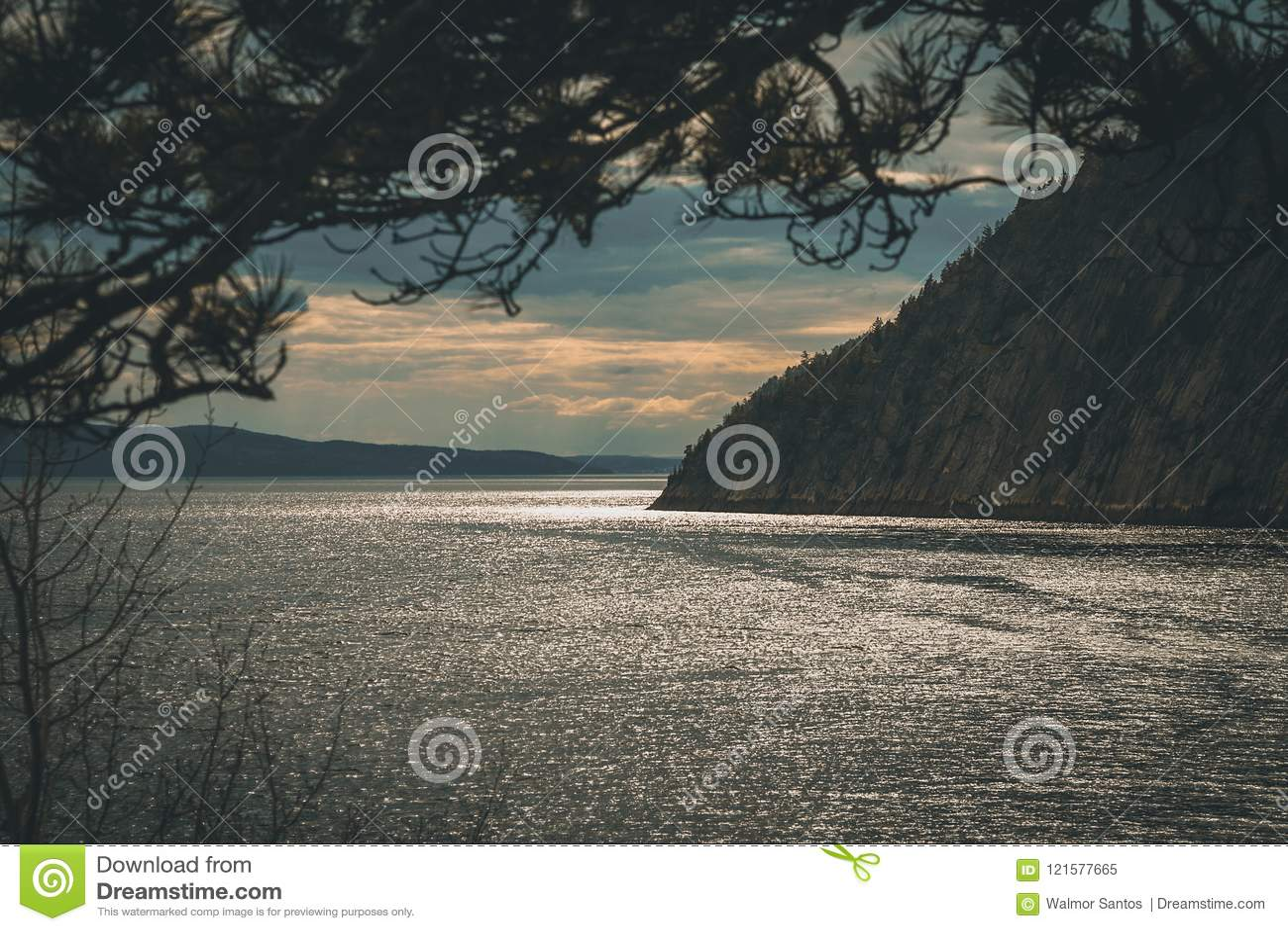 Fjords au Québec du nord
