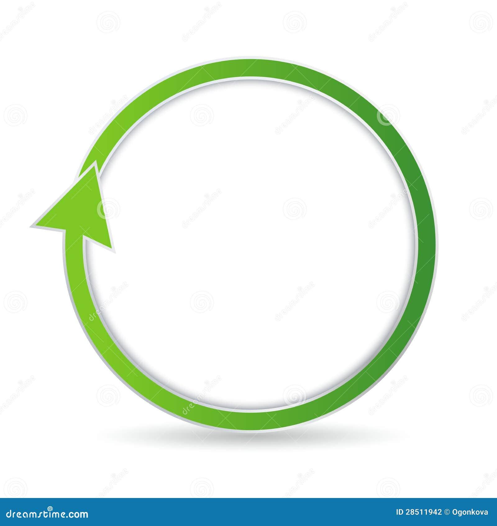 Fl 232 Che Circulaire Verte Photographie Stock Image 28511942